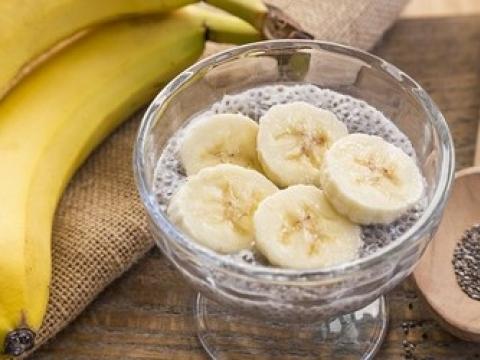 Smuti od banane i chia semenki